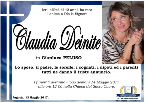 claudia deinite